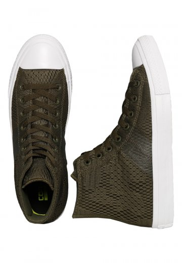 ad6ab4bf3829f6 Converse - Chuck Taylor All Star II Engineered Mesh Olive - Shoes -  Impericon.com AU