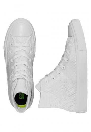 831d1d7cab3 Converse - Chuck Taylor All Star II Engineered Mesh Optical White - Girl  Shoes - Impericon.com UK