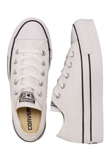 Converse - Chuck Taylor All Star Platform White - Girl Shoes