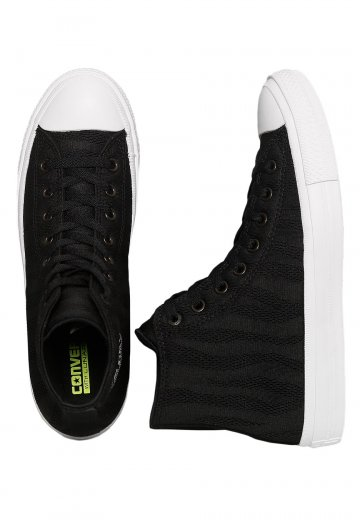 Converse - Chuck Taylor All Star II Hi Black White Gum - Shoes -  Impericon.com UK 10ce54544