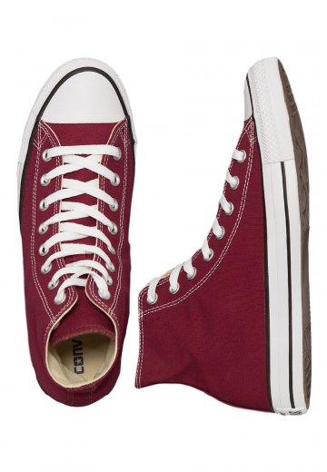 Converse - Chuck Taylor All Star Hi Maroon - Shoes