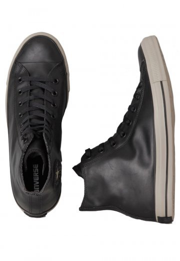 1631a3e4f6b797 Converse - Chuck Taylor All Star Rubber Black Black Papyrus - Shoes -  Impericon.com US