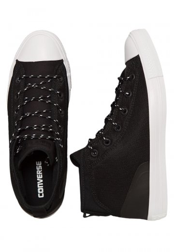 c679fba9bd11 Converse - Chuck Taylor All Star Syde Street Mid Black Black White - Shoes  - Impericon.com UK