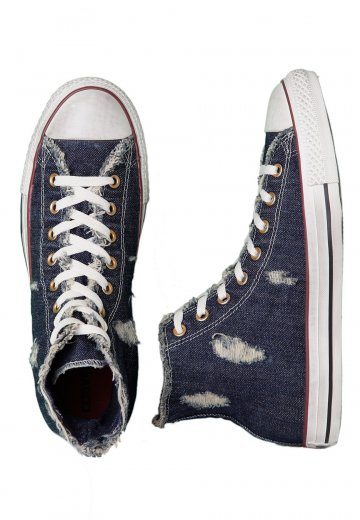 51f4c8990fe1 Converse - CT All Star Denim Hi Navy - Shoes - Impericon.com UK