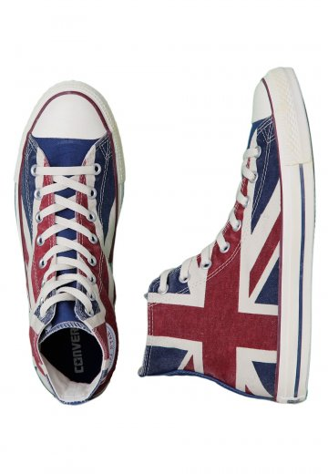 7c7e2c258668 Converse - CT All Star Union Jack Hi UK Flag Distressed - Shoes -  Impericon.com UK