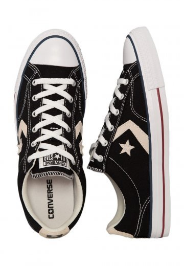 Converse - Star Player Ox Black/Milk - Shoes