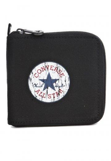 Converse Zip Wallet Retro Black Lagoon Schwarz