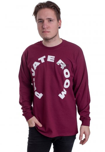 Counterparts - Private Room Maroon - Longsleeve