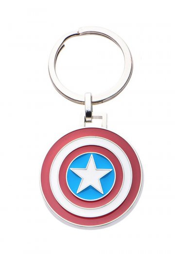 Captain America - Logo Keychain Multicolor - Keychain