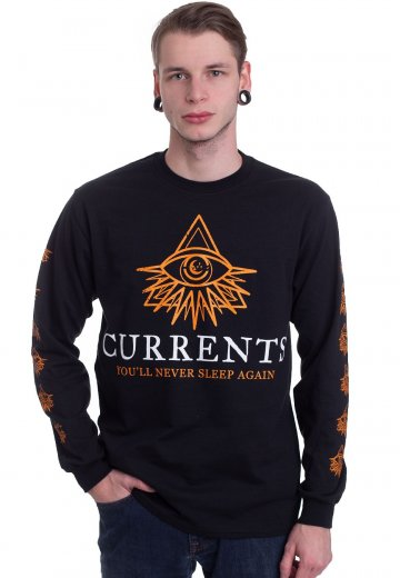 Currents - Moon And Eyes - Longsleeve