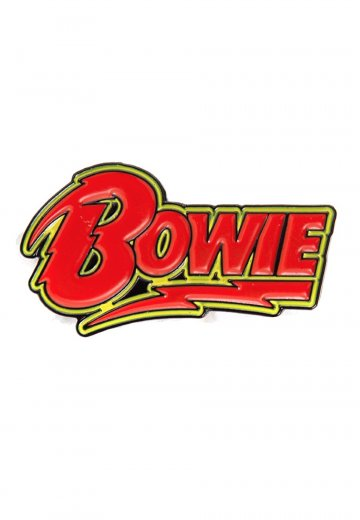David Bowie - Bowie Logo - Pin