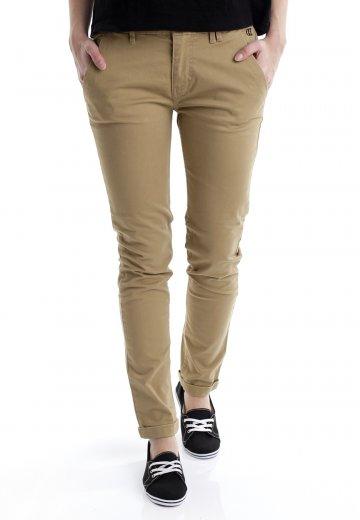 7ef37c8b7f6 DC - Chino Khaki - Girl Pants