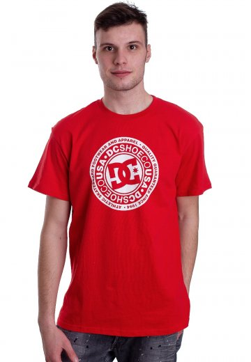 DC - Circle Star 2 Racing Red - T-Shirt