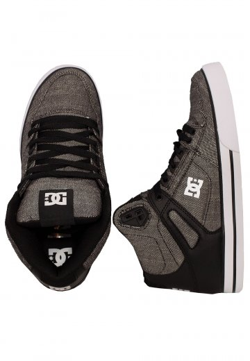 2654d83f79 DC - Pure High Top WC TX SE Black Grey White - Shoes - Impericon.com UK