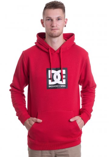 9ad7781943c3 DC - Square Star Tango Red - Hoodie - Streetwear Shop - Impericon ...