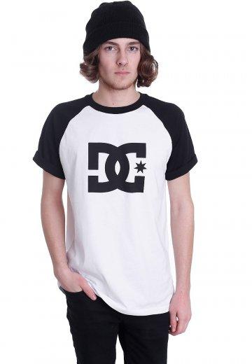 db4a0da9e58a DC - Star Raglan Black/Snow White - T-Shirt - Streetwear Shop ...