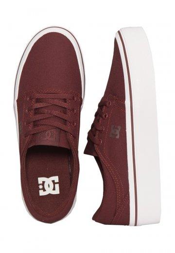 5d00f5fff4f DC - Trase Platform TX Burgundy - Girl Shoes - Impericon.com AU