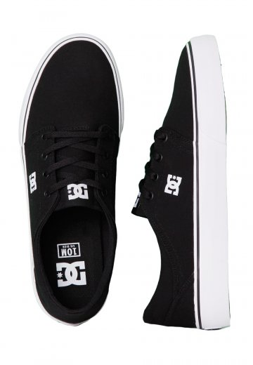 DC - Trase TX Black/White - Shoes
