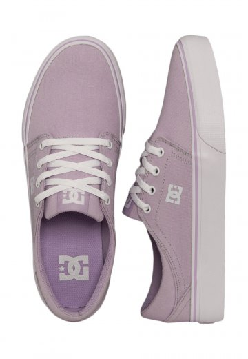 DC - Trase TX Lilac - Girl Shoes