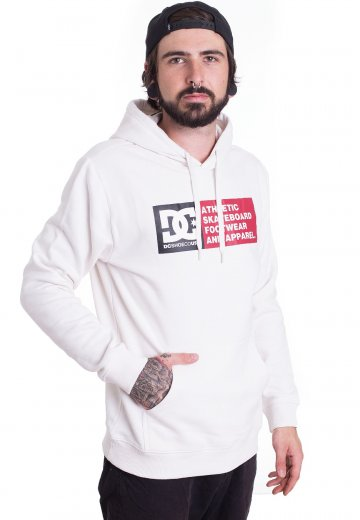 DC - Vertical Zone Snow White - Mikina s kapucí - Streetwear obchod ... 655aab87c2