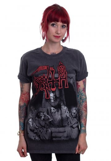 baab415e3ee05a Death - Scream Bloody Gore Vintage Wash - T-Shirt - Official Death Metal  Merchandise Shop - Impericon.com UK