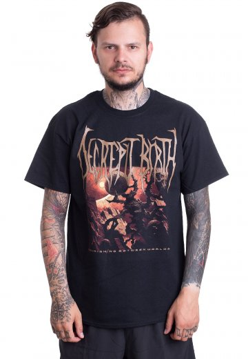 Decrepit Birth - Diminishing Between Worlds Cover - T-Shirt