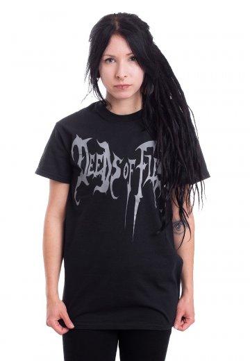 Deeds Of Flesh - Logo - T-Shirt