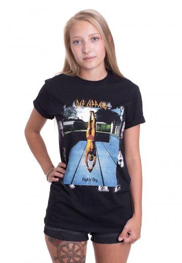 e66f363cbfce84 Def Leppard - High And Dry - T-Shirt - Official Classic Rock Merchandise  Shop - Impericon.com AU