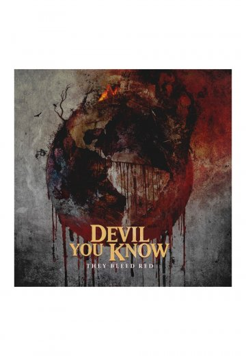 Devil You Know - They Bleed Red - Digipak CD
