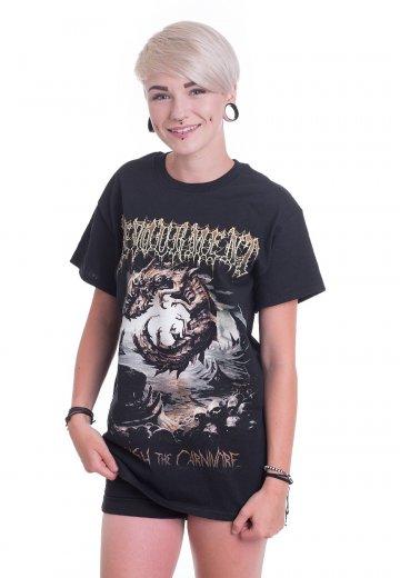 Devourment - Unleash The Carnivore Cover - T-Shirt