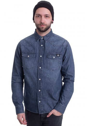 Dickies - Willard Mid Blue - Shirt