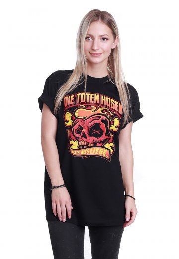 Die Toten Hosen Alles Aus Liebe T Shirt Offizieller Pop