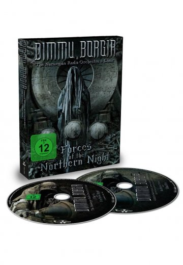Dimmu Borgir - Forces Of The Northern Night - Digipak 2 DVD + 2 CD