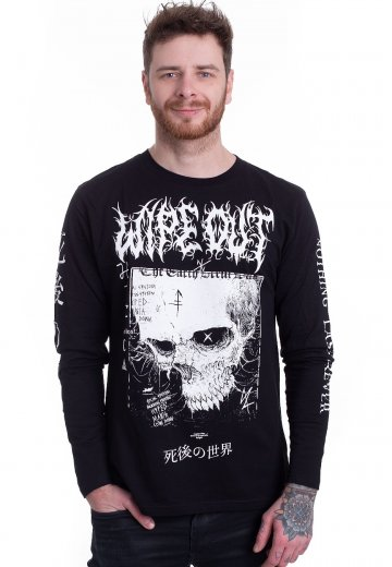 Disturbia - Wipe Out Black - Longsleeve