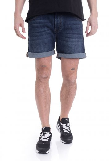 Dr. Denim - Mac Shaded Dark Blue - Shorts