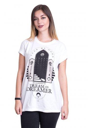Dream On, Dreamer - Rat White - T-Shirt