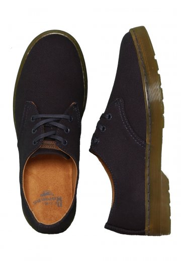 pretty nice finest selection classic style Dr. Martens - Delray Twill Canvas 3 Eye Navy - Shoes