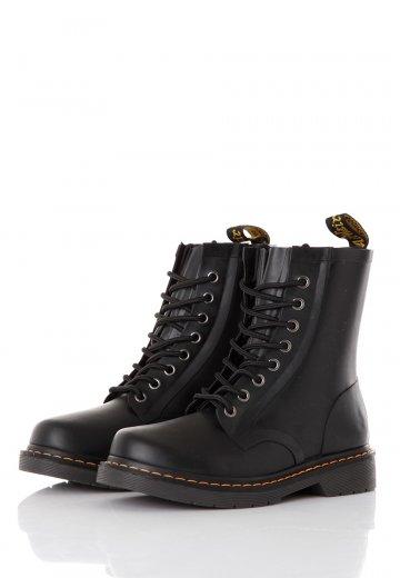 faee9af6a24980 Dr. Martens - Drench Rubber Wellington 8 Eye Boot - Girl Shoes -  Impericon.com AU