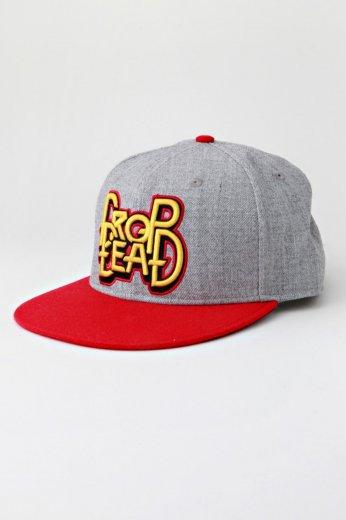 Drop Dead - War Pig Grey Red Snapback - Cap - Impericon.com US 33b0638df262