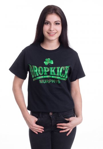 Dropkick Murphys - Fighter Plaid - T-Shirt