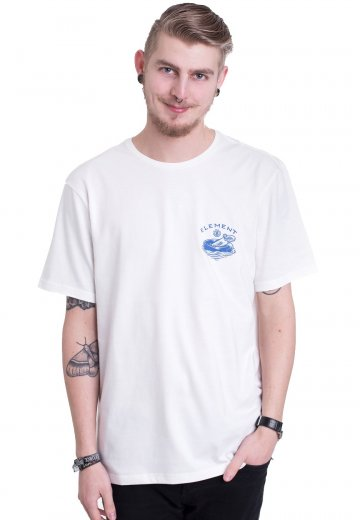 Element - River Keepers Bone White - T-Shirt