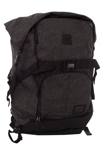 8d92110b70 Element - The Weekender Black Grid Heather - Backpack - Impericon.com AU