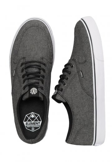 Element - Topaz C3 Black Chambray - Shoes