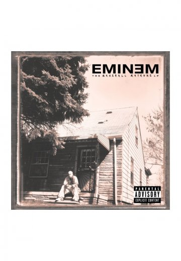Eminem - The Marshall Mathers LP - CD - Official Rap ...
