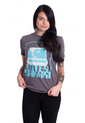 Enter Shikari - Synth Square Charcoal - T-Shirt