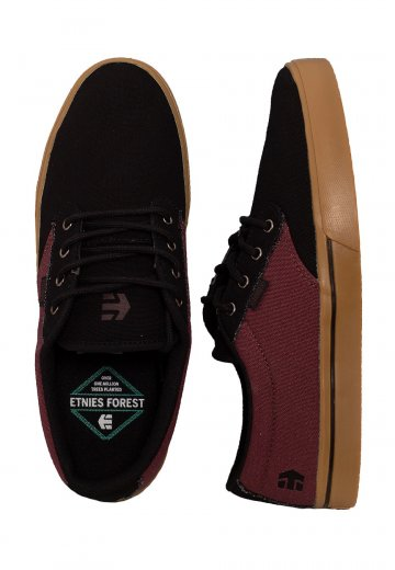 Etnies - Jameson 2 Eco Black/Red/Gum - Shoes