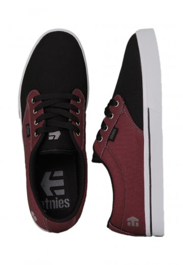 70d6ab2a1b0033 Etnies - Jameson 2 Eco Black Red Grey - Shoes - Impericon.com UK