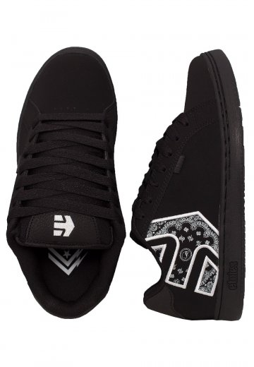 Etnies - Metal Mulisha Fader Black/White/Black - Shoes