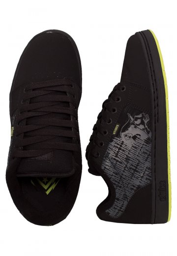Etnies - Metal Mulisha Barge LS Black/Lime - Shoes