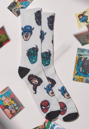 Vans x Marvel - Vans x Marvel Charcoal - Socks